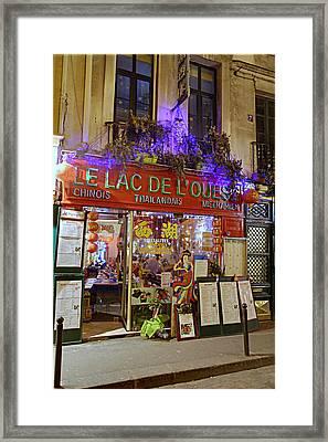 Street Scenes - Paris France - 011326 Framed Print by DC Photographer