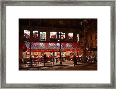Street Scenes - Paris France - 011330 Framed Print by DC Photographer