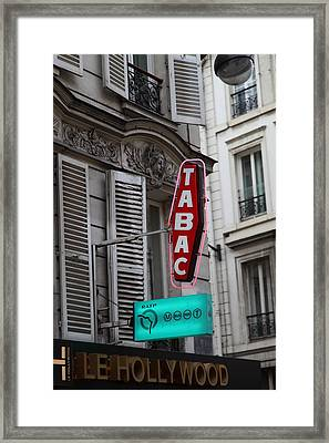 Street Scenes - Paris France - 011340 Framed Print by DC Photographer