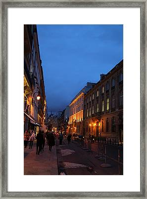Street Scenes - Paris France - 011341 Framed Print by DC Photographer