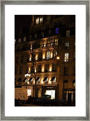 Street Scenes - Paris France - 011347 Framed Print by DC Photographer