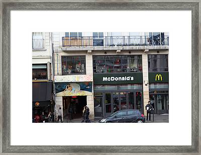 Street Scenes - Paris France - 011351 Framed Print by DC Photographer