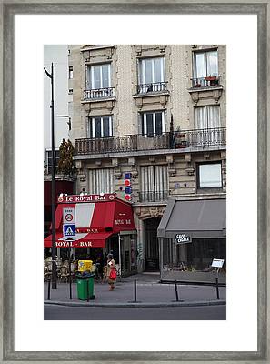 Street Scenes - Paris France - 011352 Framed Print by DC Photographer