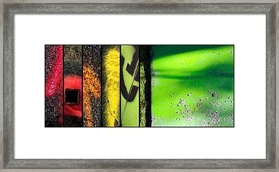 Street Sights 12 Framed Print by Marlene Burns