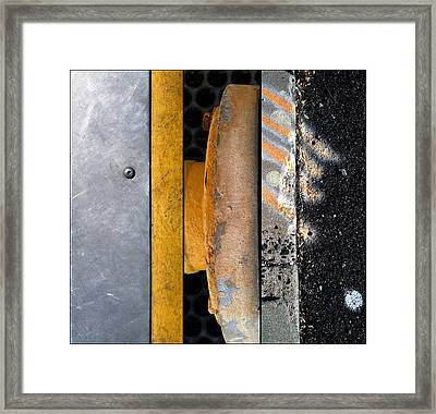 Street Sights 21 Framed Print by Marlene Burns