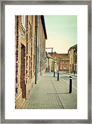 Street  Framed Print by Tom Gowanlock