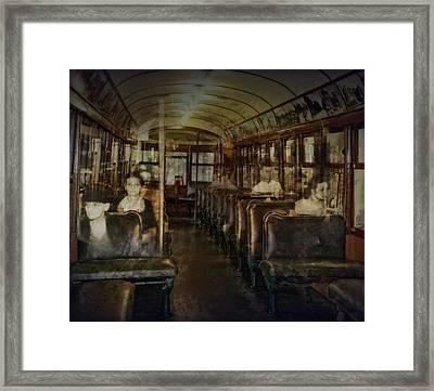 Streetcar Spirits Framed Print