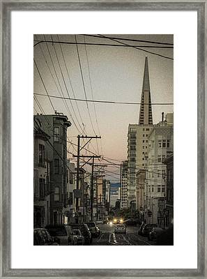 Streetcar Tunnel Vision Framed Print by Scott Campbell