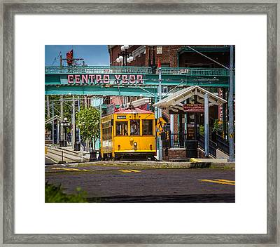 Streetcar Framed Print by Ybor Photography