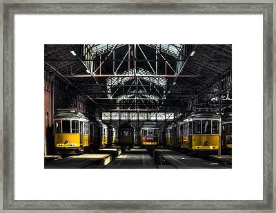 Streetcars I Framed Print