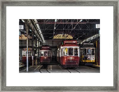 Streetcars II Framed Print