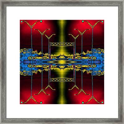 Streetlight Serenade 5 Framed Print by Wendy J St Christopher