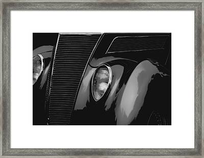 Streetrod 1937 Ford Framed Print