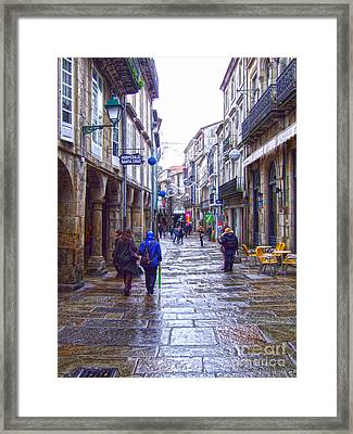 Streets Framed Print by Andrew Middleton