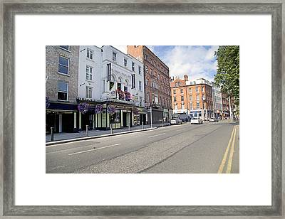 Streets--ireland Dublin Framed Print