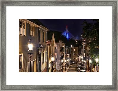 Streets Of Charlestown 2 Framed Print by Joann Vitali