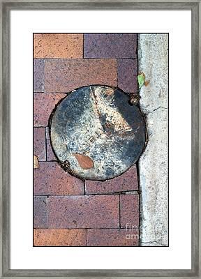 Streets Of Tucson 171 Framed Print