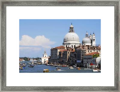 Streets Of Venezia 1 Framed Print