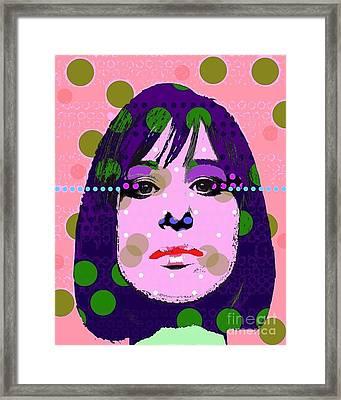 Streisand Framed Print by Ricky Sencion