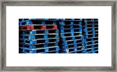 Strength In Numbers Framed Print by John Grace