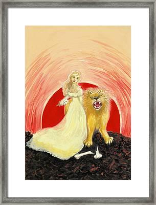 Strength Framed Print by Lise Slinky