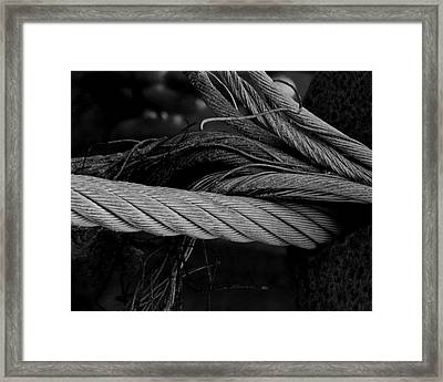 Strength Of Strings Framed Print by Odd Jeppesen