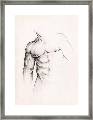 Strength Framed Print by Rudy Nagel