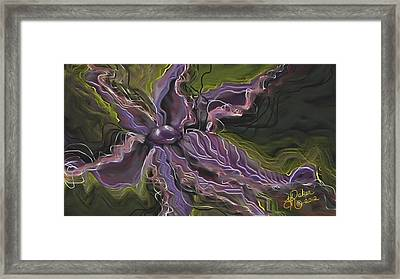 Framed Print featuring the painting Strength by Yolanda Raker