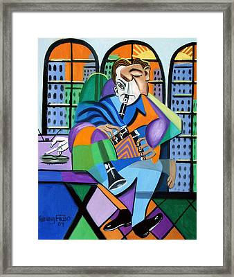 Stress Relief Framed Print by Anthony Falbo