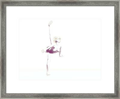 Stretch Drawing Framed Print