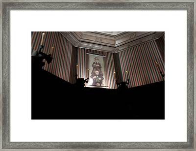 Stretched Framed Print by Ryan Crane