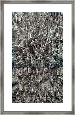 Striated 3 Framed Print