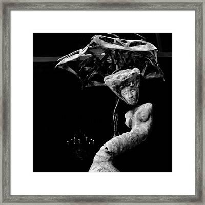 Strike A Pose Framed Print by Susan Hall Frazier