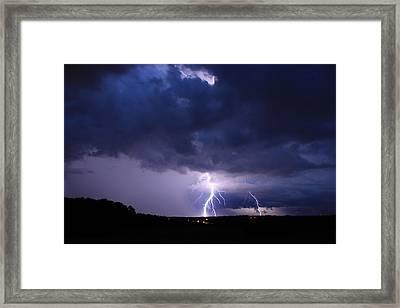 Striking Del Webb Framed Print by Reid Callaway