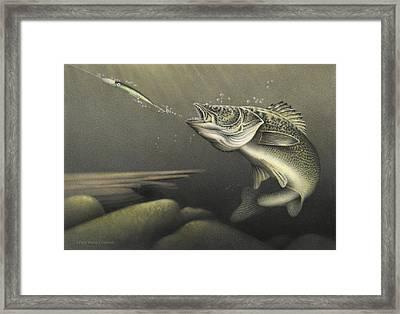 Striking Distance Framed Print by Doug Comeau