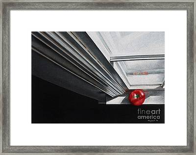 Striking Perspective Framed Print by Ranjini Venkatachari