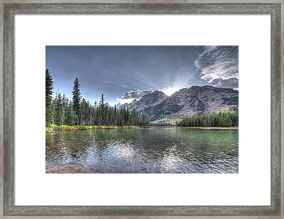 String Lake Framed Print