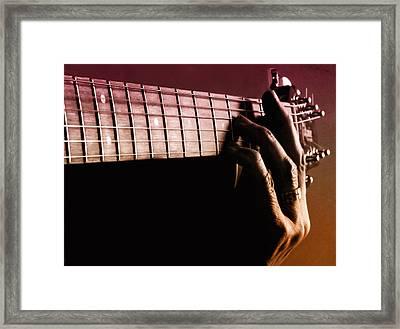 String Me Along Framed Print
