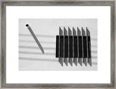 String Shadows - Selected Award - Fiap Framed Print