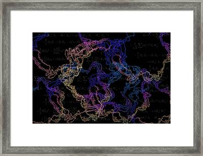 String Theory Framed Print by Dan Sproul