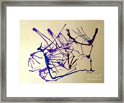 String Theory Framed Print by Diane Phelps