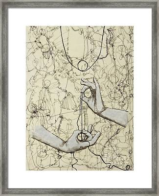 String Theory - This Moment Framed Print