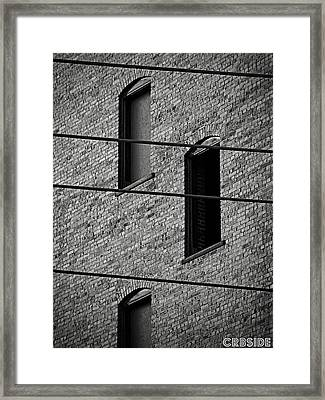 Guitar Frets And Strings Framed Print by Chris Berry