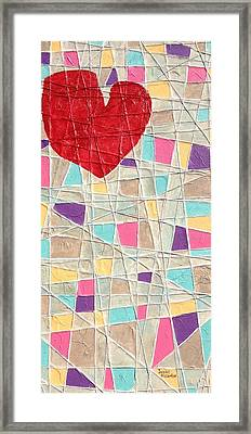 Strings To My Heart  Framed Print