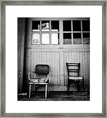 Strip District Doorway Number Eight Framed Print by Amy Cicconi