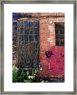Strip District Doorway Number Five Framed Print by Amy Cicconi