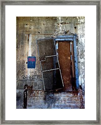 Strip District Doorway Number Three Framed Print