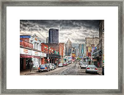 Strip District Pittsburgh Framed Print