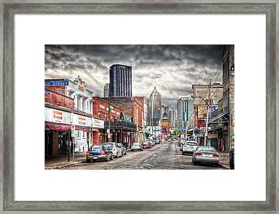 Strip District Pittsburgh Framed Print by Emmanuel Panagiotakis