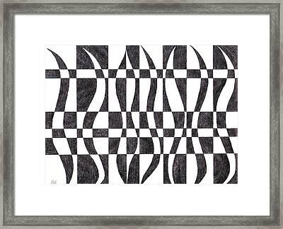 Striped Framed Print by Eric Forster